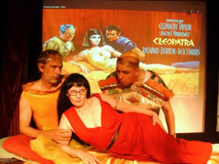 Caesar und Cleopatra, Bühne Hotel Rixdorf, 2016